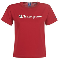 Clothing Women short-sleeved t-shirts Champion 111393-RIR Bordeaux