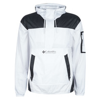 Clothing Men Macs Columbia CHALLENGER WINDBREAKER White / Black