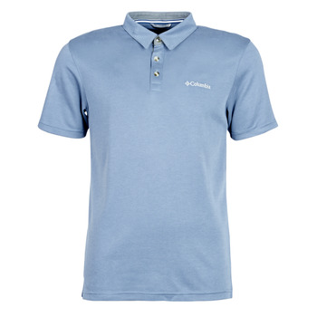 Clothing Men Short-sleeved polo shirts Columbia NELSON POINT POLO Blue