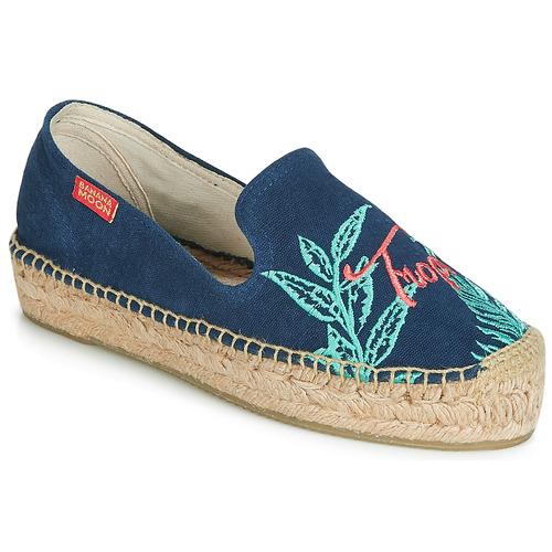 Shoes Women Espadrilles Banana Moon VERAO Blue