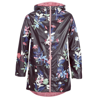 Clothing Women Parkas S.Oliver 04-899-61-5060-90G17 Marine / Multicolour