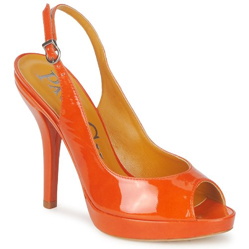 Shoes Women Sandals Paco Gil STAR FIZO Orange