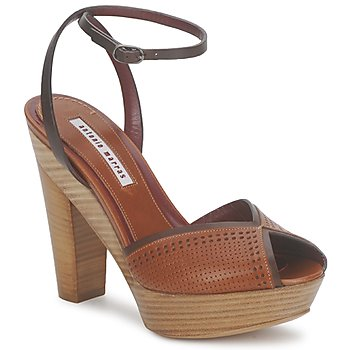 Shoes Women Sandals Antonio Marras 4211 PAYA Brown