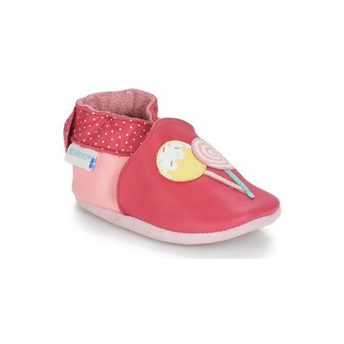 Shoes Girl Baby slippers Robeez FUNNY SWEETS Pink / White