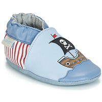 Shoes Boy Baby slippers Robeez PIRATE'S BOAT Blue