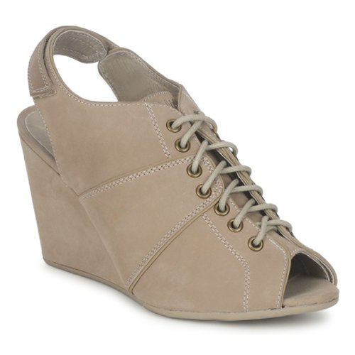 Shoes Women Shoe boots No Name DIVA OPEN TOE Beige