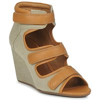 Shoes Women Sandals No Name DIVA STRAPS BEIGE