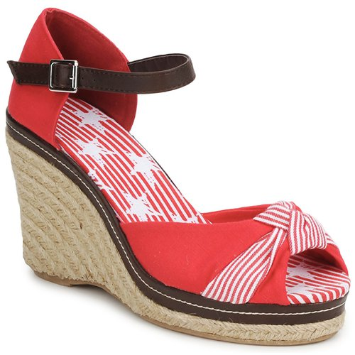 Shoes Women Sandals StylistClick PATTY Red