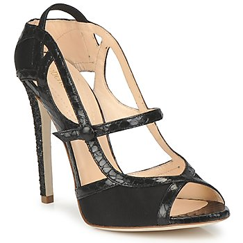 Shoes Women Sandals Roberto Cavalli RPS678 Black