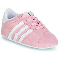 Shoes Girl Low top trainers adidas Originals GAZELLE CRIB Pink