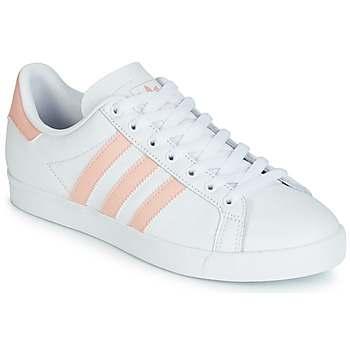 Shoes Women Low top trainers adidas Originals COURSTAR White / Pink