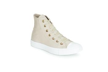 Shoes Women Hi top trainers Converse CHUCK TAYLOR ALL STAR HEARTS CANVAS HI Grey