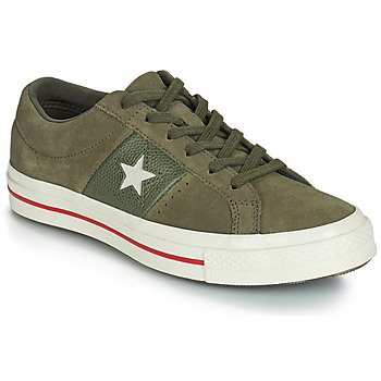Shoes Women Low top trainers Converse ONE STAR CUIR FASHION BALLER SUEDE OX Kaki