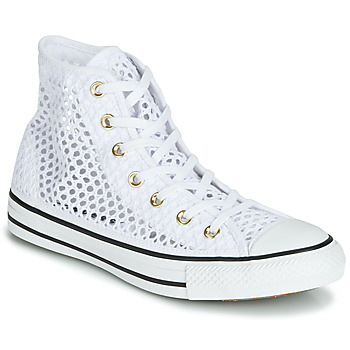 Shoes Women Hi top trainers Converse CHUCK TAYLOR ALL STAR HANDMADE CROCHET HI White