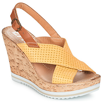 Shoes Women Sandals Elue par nous EMPIRE Yellow