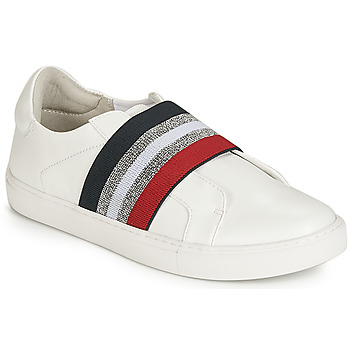 Shoes Women Slip-ons Elue par nous ESSORE White