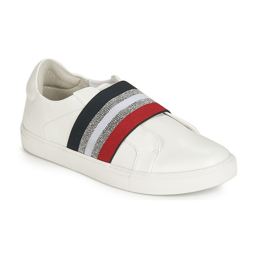 Shoes Women Slip-ons Elue par nous ESSORE White