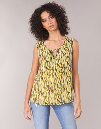 Clothing Women Tops / Blouses One Step MAFA Yellow