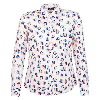 Clothing Women Shirts One Step SYLVIA White / Multicoloured