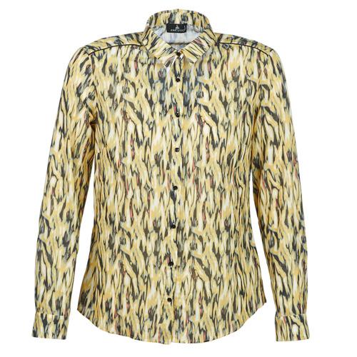 Clothing Women Shirts One Step MONICA Yellow