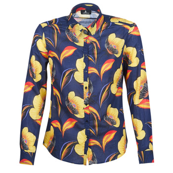 Clothing Women Shirts One Step LILLY'S Blue / Yellow