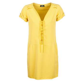 Clothing Women Short Dresses One Step PATRICIA Yellow