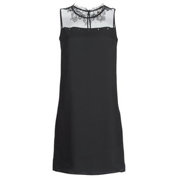 Clothing Women Short Dresses One Step TINA Black