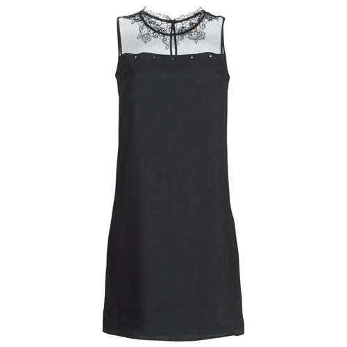Clothing Women Short Dresses One Step TINA Black
