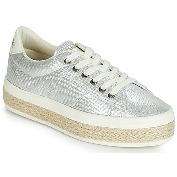 Shoes Women Low top trainers No Name MALIBU Silver