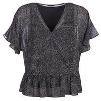 Clothing Women Tops / Blouses Ikks BN11175-02 Black