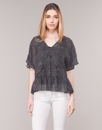 Clothing Women Tops / Blouses Ikks BN11175-02 Black