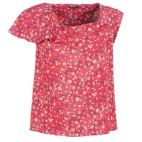Clothing Women Tops / Blouses Ikks BN11345-35 Coral / Multicoloured
