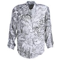 Clothing Women Shirts Ikks BN12085-11 White / Black