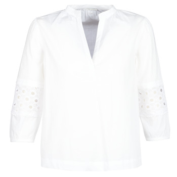 Clothing Women Tops / Blouses Ikks BN13245-01 White