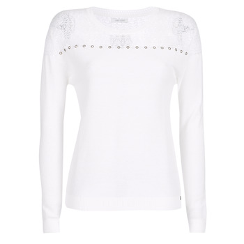 Clothing Women jumpers Ikks BN18305-11 White