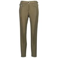 Clothing Women 5-pocket trousers Ikks BN22125-56 Kaki