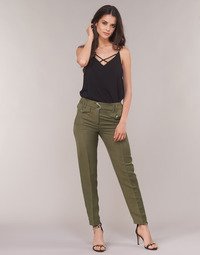 Clothing Women 5-pocket trousers Ikks BN22125-56 Kaki