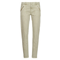 Clothing Women slim jeans Ikks BN29235-55 Beige