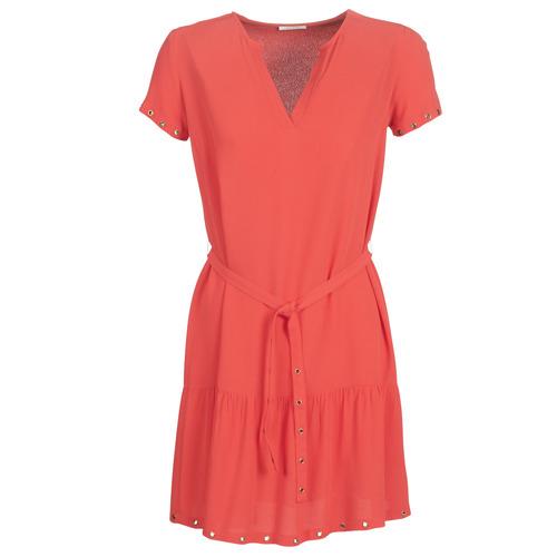 Clothing Women Short Dresses Ikks BN30115-35 Coral