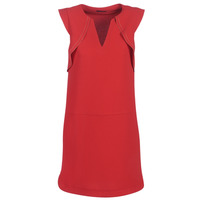 Clothing Women Short Dresses Ikks BN31075-36 Red