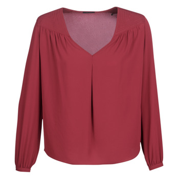 Clothing Women Tops / Blouses Ikks BN13015-37 Garnet