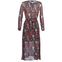 Clothing Women Long Dresses Ikks  Black / Red / Grey