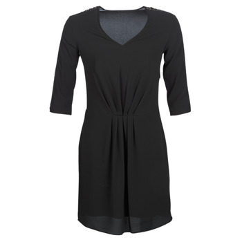 Clothing Women Short Dresses Ikks  Black