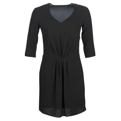 Clothing Women Short Dresses Ikks BN30015-02 Black