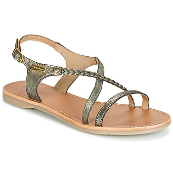 Shoes Women Sandals Les Tropéziennes par M Belarbi HANANO Black / Silver