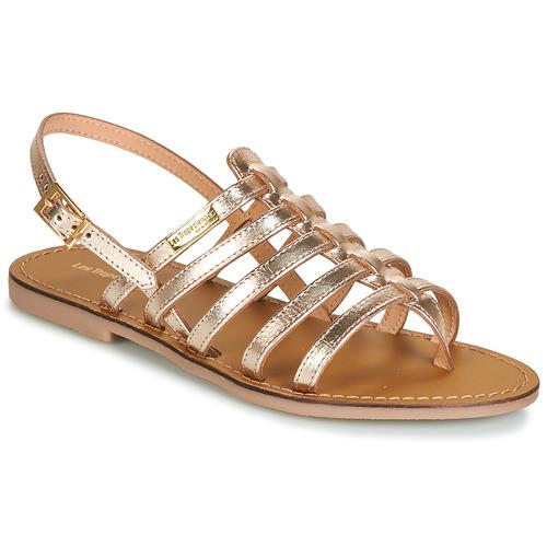 Shoes Women Sandals Les Tropéziennes par M Belarbi HERILO Gold