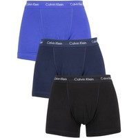 Underwear Men Boxer shorts Calvin Klein Jeans 3 Pack Trunks blue