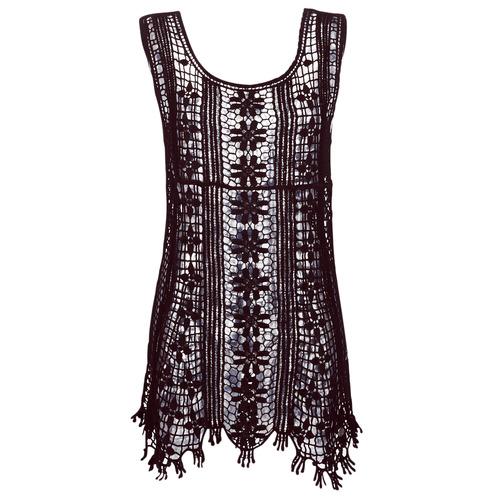 Clothing Women Short Dresses Banana Moon JOSY DREAMLAND Black