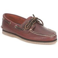Shoes Men Boat shoes Timberland CLASSIC 2 EYE Brown