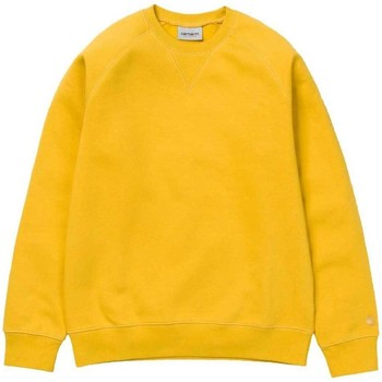 Clothing Men sweaters Carhartt WIP Chase Sweat Shirt Yellow